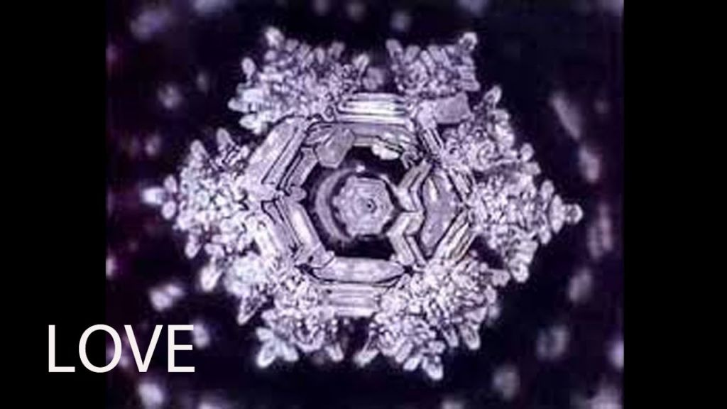 Dr Emoto - Love Crystal